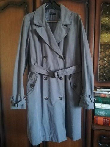 Ženska odeća | Kursumlija: BENETTON sivi mantil. Idealan za proleće i jesen. Mantil je obucen dva