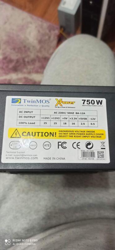 платья для беременных бишкек в Кыргызстан: Блок питания TwinMos 750 watt. Новый
