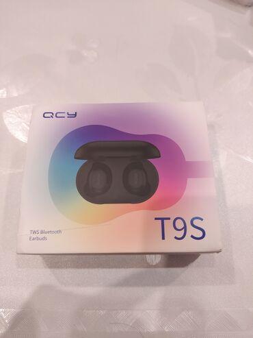 провод для наушников в Азербайджан: Orjinal QCY T9S qulaqcıqı,yenidir,son versiyadır,ses sistemi