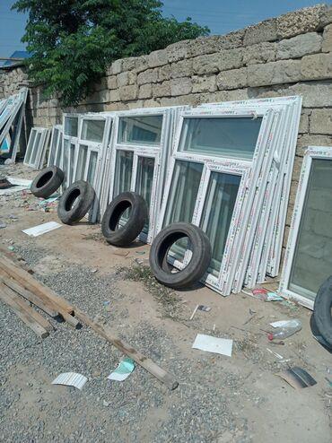 Pəncərələr - Azərbaycan: 120×140=85 manat 1 eded teze plastik pencerenin qiymeti Binə sovxoz