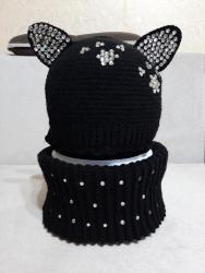 вязаные платья на лето в Кыргызстан: Вязание на заказ, шапки, повязки, снуды, митенки, шарфы для детей и