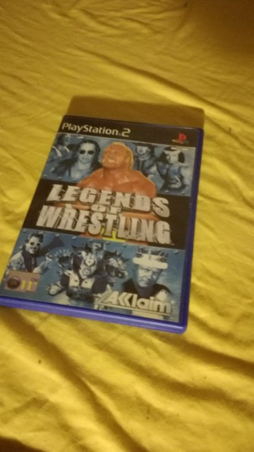 Legends of Wrestling Playstation 2 PAL Version σε Παλλήνη