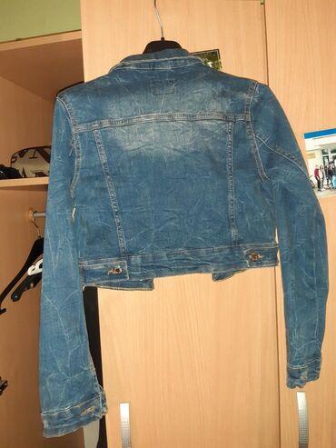 Denim jacket (crop) Nosena par puta