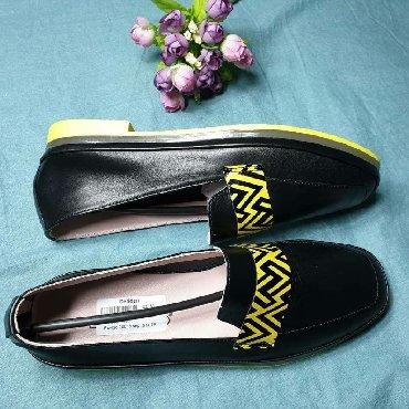 черные-женские-туфли в Кыргызстан: Женский обувь из Турции премиум класса. Плотность натуральная кожа