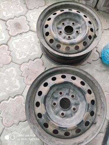 Размер железные диски 15р. Тойота 2шт