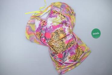 1537 объявлений: Жіноча блуза з принтом, р. L   Довжина: 67 см Довжина рукава: 23 см На