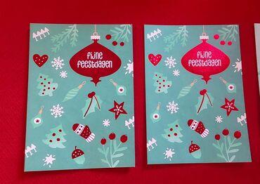 Новвогодние открытки,2 штуки-5 азн