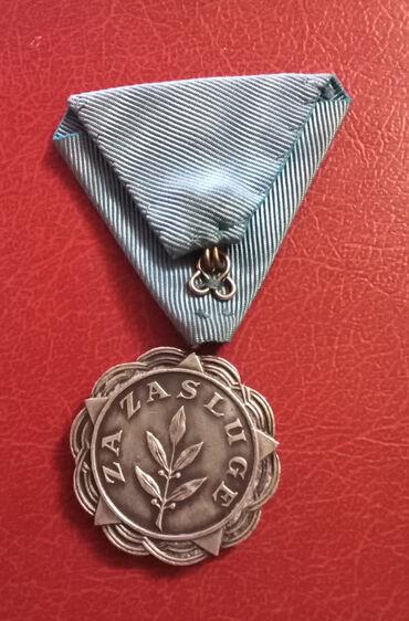 Majca timeout brand - Srbija: Medalja za zasluge FNRJ