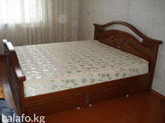 Изготовим каркас кровати любых размеров, с выдвижными ящиками. в Бишкек