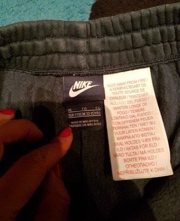 Nike teget original donji deo trenerke za decake. Najveci deciji broj - Belgrade