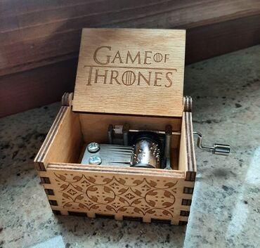 Poklon - Srbija: Muzička kutija 'Game of Thrones'. Odlicna kao poklon