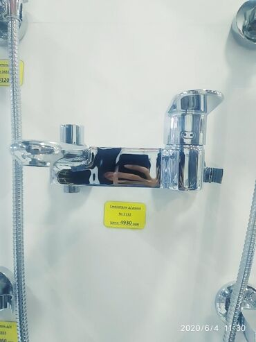 ванна для душа в Кыргызстан: Смеситель для ванны душ лейка тоже в комплекте №3132 наш адрес АЮ