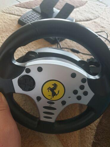 PS4 (Sony Playstation 4) | Srbija: Ferrari wheels oprema za voznju