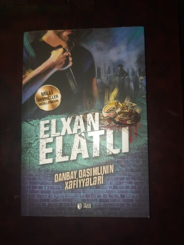 58 elan | İDMAN VƏ HOBBI: Bədii kitablar Elxan Elatlı; Qanbay Qasımlının xəfiyyələri