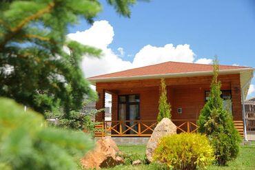 дом из сруба бишкек цена в Кыргызстан: Коттедж, Бостери, Детская площадка, Парковка, стоянка, Охраняемая территория