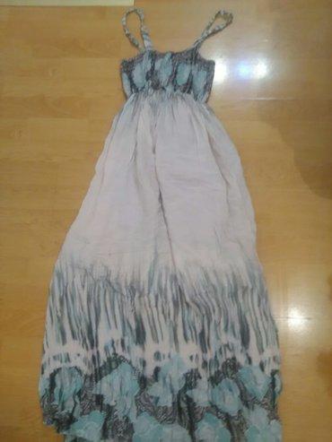 Pamucna haljina,postavljena do kolena odgovara S velicini - Bajina Basta