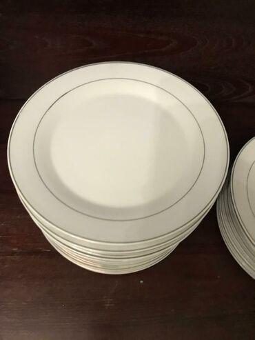 собачий жир купить в бишкеке в Кыргызстан: Продаю тарелки  Япония Фарфор  Диаметр 23 см  И кесе большие - можно к