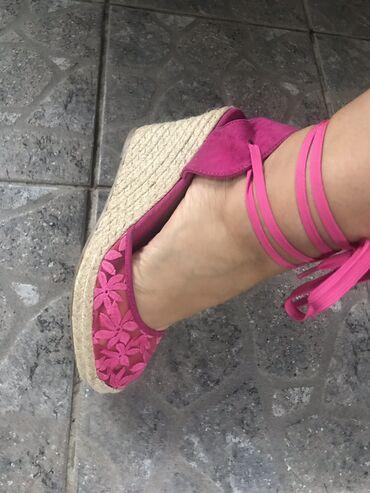Prizu jos su - Srbija: Predivne pink espadrile, jos uvek su sa etiketom, kupljene u