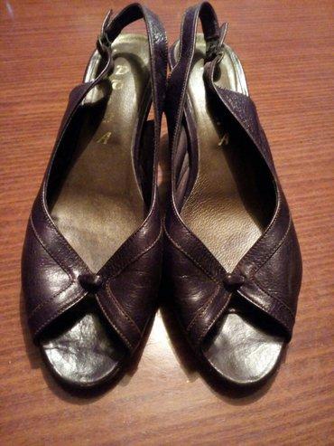 Sandale kozne braon nosene ali ocuvane, u dobrom stanju bez ostecenja. - Crvenka