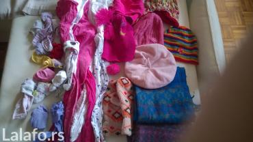 Komplet ženskih dečjih kapa, šalova,   hulahopa i čarapa. Za - Beograd