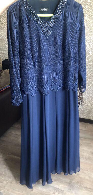 женское платье 56 в Кыргызстан: Женское платье, надевали один раз. Турецкого производства. 56 размер