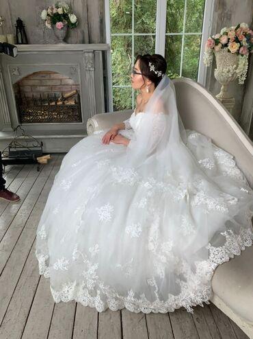 свадебное платье напрокат в Кыргызстан: Сдам на прокат либо продажа свадебного платья в идеально новом состо