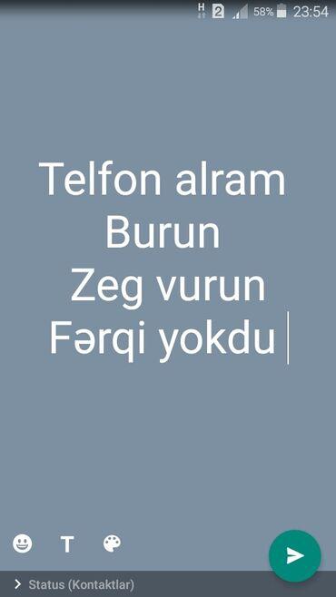 Huave - Azərbaycan: Telfon alram ferq etməz telfon hansınan olur olsun burun zeg vurun 200