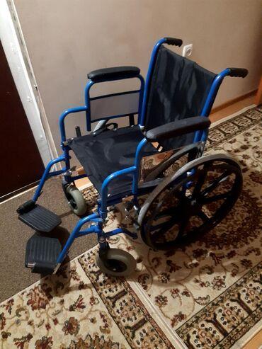 Детская-инвалидная-коляска - Кыргызстан: Инвалидная коляска россия состояние хорошая прошу 6500с цена