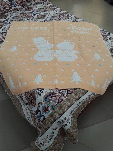 Одеяло детское 120*120 Лен ) в Бишкек