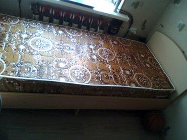 Кровать ,2м х 80см, с матрацем в Бишкек