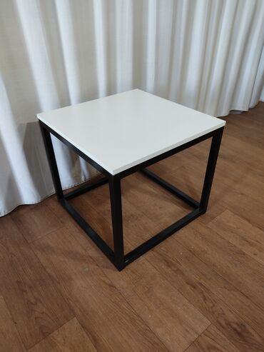 Столик журнальный в стиле лофт 50х50х45  Эмерек 312 Мебель  Стол Лофт
