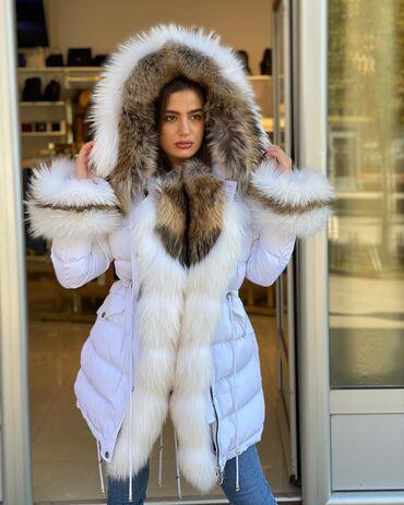 Jakna sa krznom - Srbija: Prelepa jakna topla zimska sa bogatim krznom po hitt ceni samo kod nas