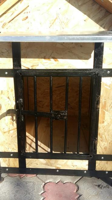 Продаю будку для собаки длина 1м ширина 0.7см высота 1м в Бишкек