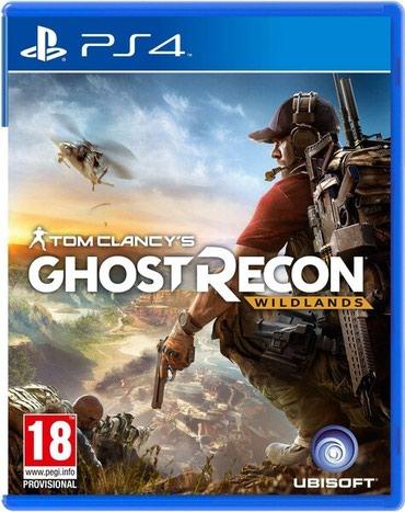 Bakı şəhərində Ps4 üçün ghost recon oyun diski satılır Yenidir