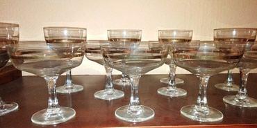 Set ukrasnih čaša za crno i belo vino - Nis