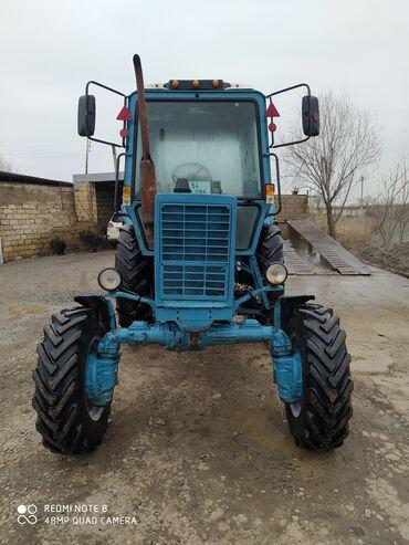 Yük və kənd təsərrüfatı nəqliyyatı - Ətcələr: Belarus mtz 82 traktor satılır narmalni veziyetdedir sənədləri