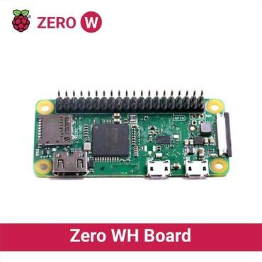 Raspberry Pi Zero WH (sa GPIO konektorom) Novo - Krusevac