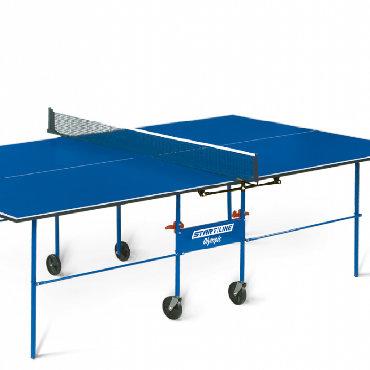 Теннисный стол start line olympic с сеткой 6021новый