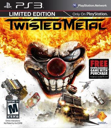 """Bakı şəhərində """"Twisted Metal"""" Ps3 diski"""