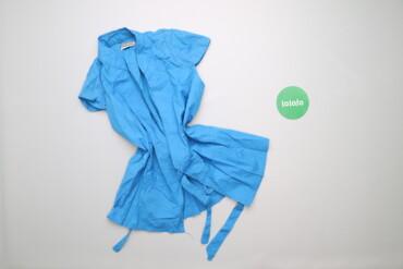 Рубашки и блузы - Цвет: Голубой - Киев: Жіноча сорочка з паском Nottinghill, p. М    Довжина: 61 см Ширина пле