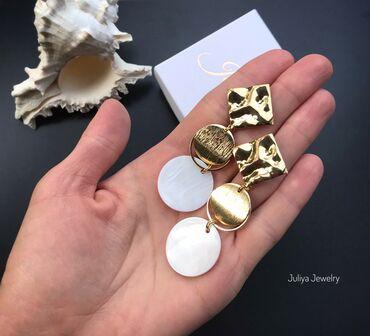 работа в faberlic в Кыргызстан: Серьги ручной работы. Авторские украшения Juliya Jewelry.Натуральный