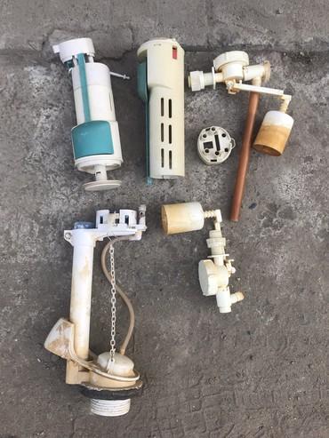 Другая сантехника в Кыргызстан: Механизм слива воды в бочке унитаза, б/у. За все -100 сом