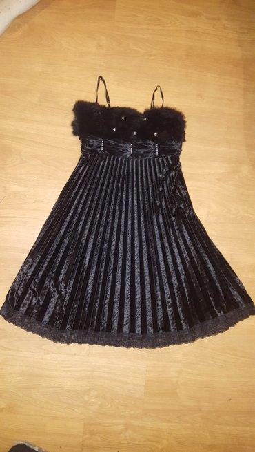 Crna maturska haljina vel. M / L - Prokuplje