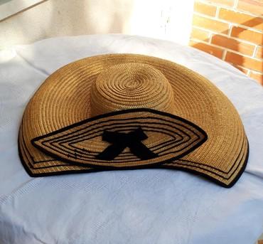 Sombrero-original... vrlo kvalitetan i moderan...precnik oboda: - Belgrade