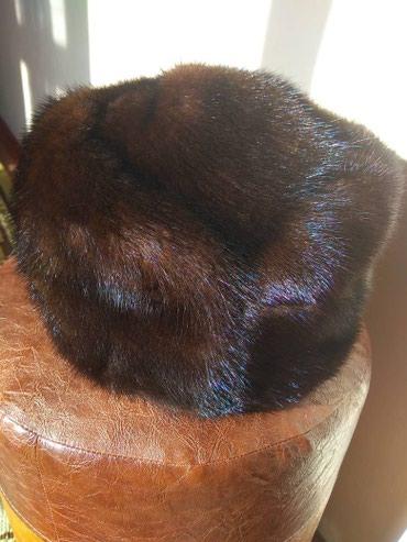 Шапку-для-девочки - Кыргызстан: Продаю норковую шапку новая 54 размер мини торг уместен