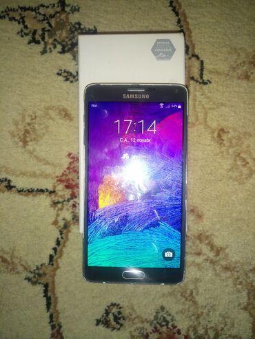 Samsung galaxy note 3 mini islenmis - Azərbaycan: Samsung Galaxy Note 4- 200₼ SATILIR, 32gb yaddas, Ram 3,karobkasida va