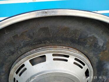 Купить грузовой рефрижератор - Кыргызстан: 295 .80. 22,5 Резина Балон.Донголок . Кама новая +диск цена 21000с