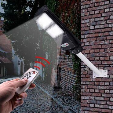 Rasveta | Smederevo: Solarni reflektor za stubnu montažu sa senzorom dan/noć 90w +