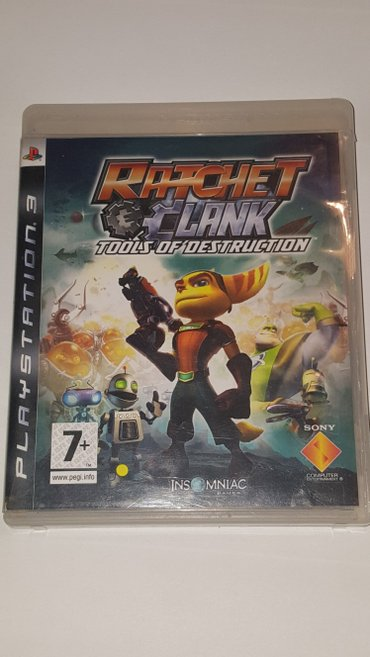 Igrica Ratchet and Clank Tools of Destruction je originalna za Sony - Beograd