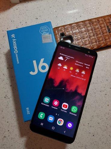 Samsung Şəmkirda: Yeni Samsung Galaxy J6 2018 64 GB qara